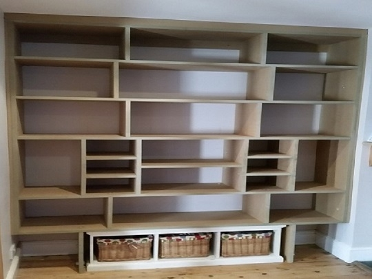 Waterlooville Carpenters - Bespoke Storage Units 1G
