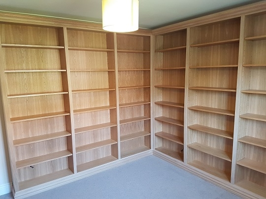 Waterlooville Carpenters - Bookcases and Shelving 10