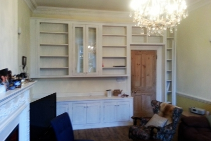 Waterlooville Carpenters - Bookcases and Shelving 1