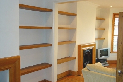Waterlooville Carpenters - Bookcases and Shelving 15