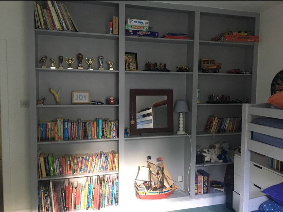 Waterlooville Carpenters - Bookcases and Shelving